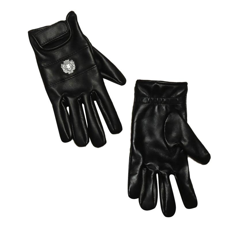 Brune Black Genuine Leather Fashion Gloves to Protect from Direct Contact