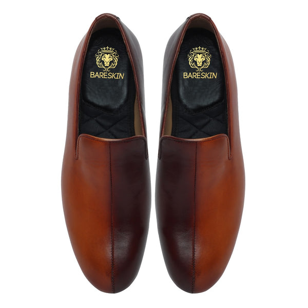 DUAL TONE MEN SLIP ONS BY BARESKIN