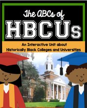 Load image into Gallery viewer, Digital Download - ABCs of HBCUs Printable Reading Comprehension Activity