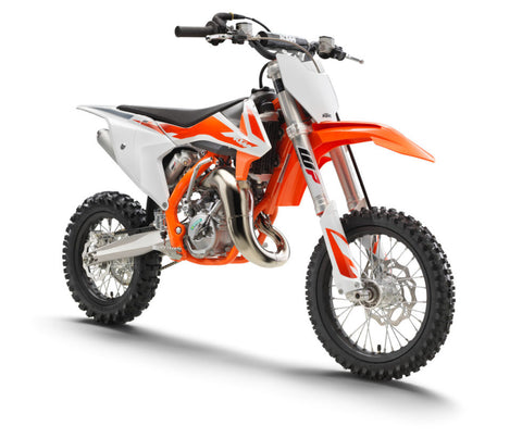 KTM-SX65 fully-fledged race machine for young pilots aged between 8 and 12 years