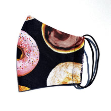 Load image into Gallery viewer, EO48- Face cover with donut patterns (ears)