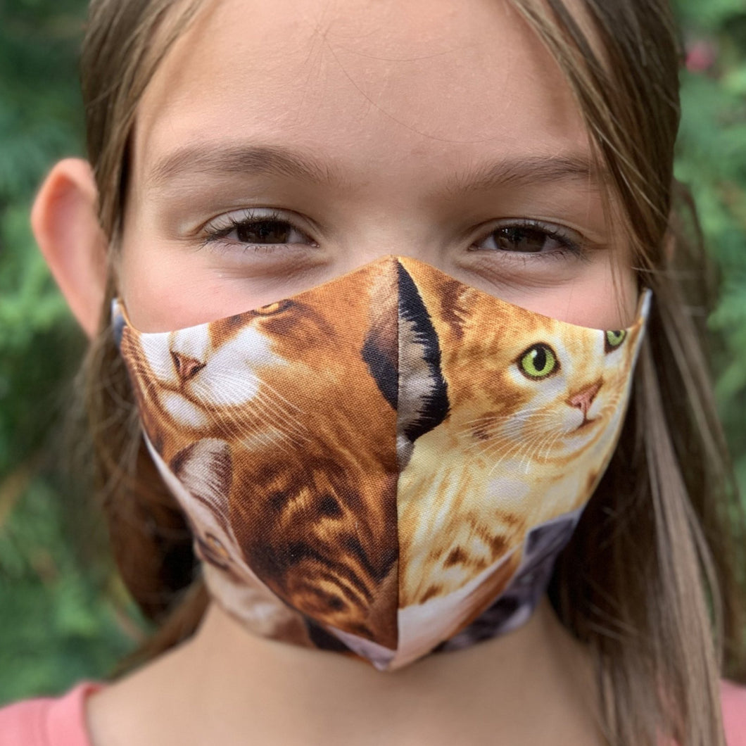 Masque de chats - Cats face mask
