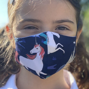 Masque de licornes - Unicorn face mask