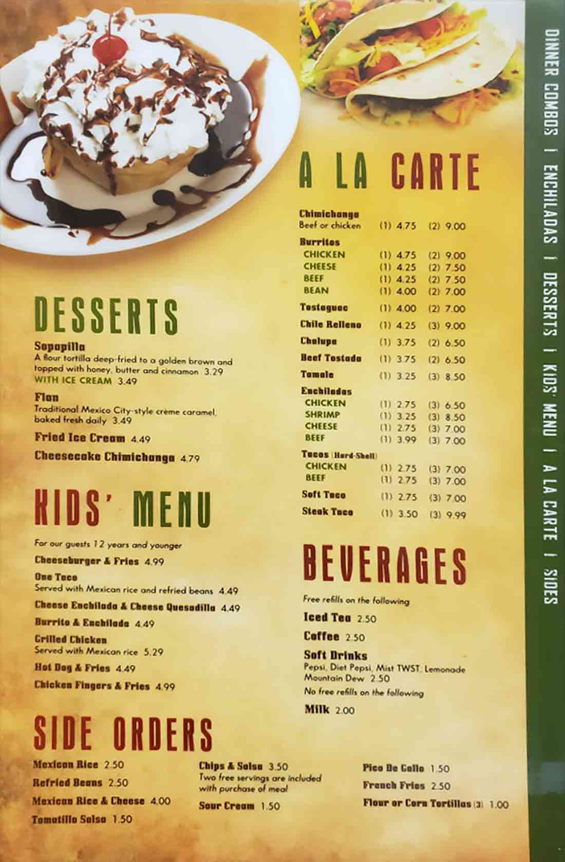 Cancun-Mexican-Grill-Saline-Dine-In-Menu-Page-11