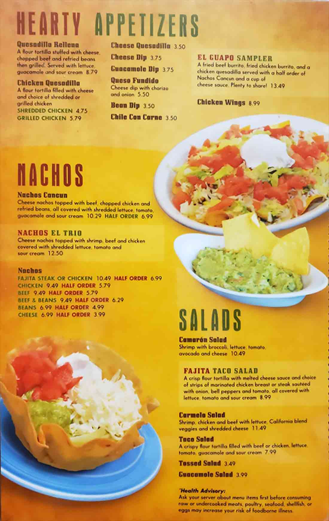 Cancun-Mexican-Grill-Saline-Dine-In-Menu-Page-2