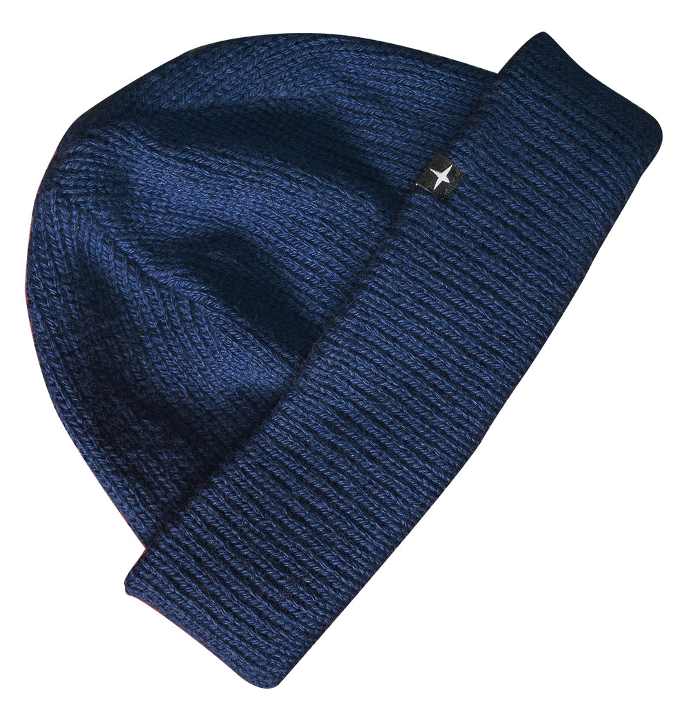 CANADIAN BEANIE - DENIM BLUE