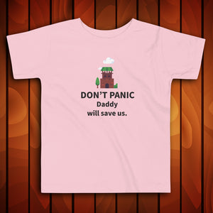 Don't Panic - Toddler Tshirt