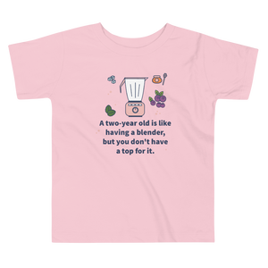 Two Year Old Blender - Toddler Tshirt
