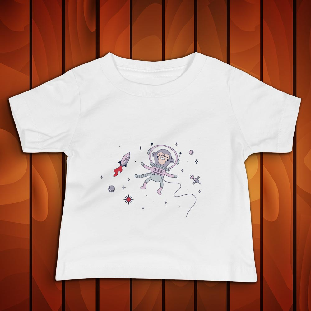 Space Monkey - Baby Tshirt