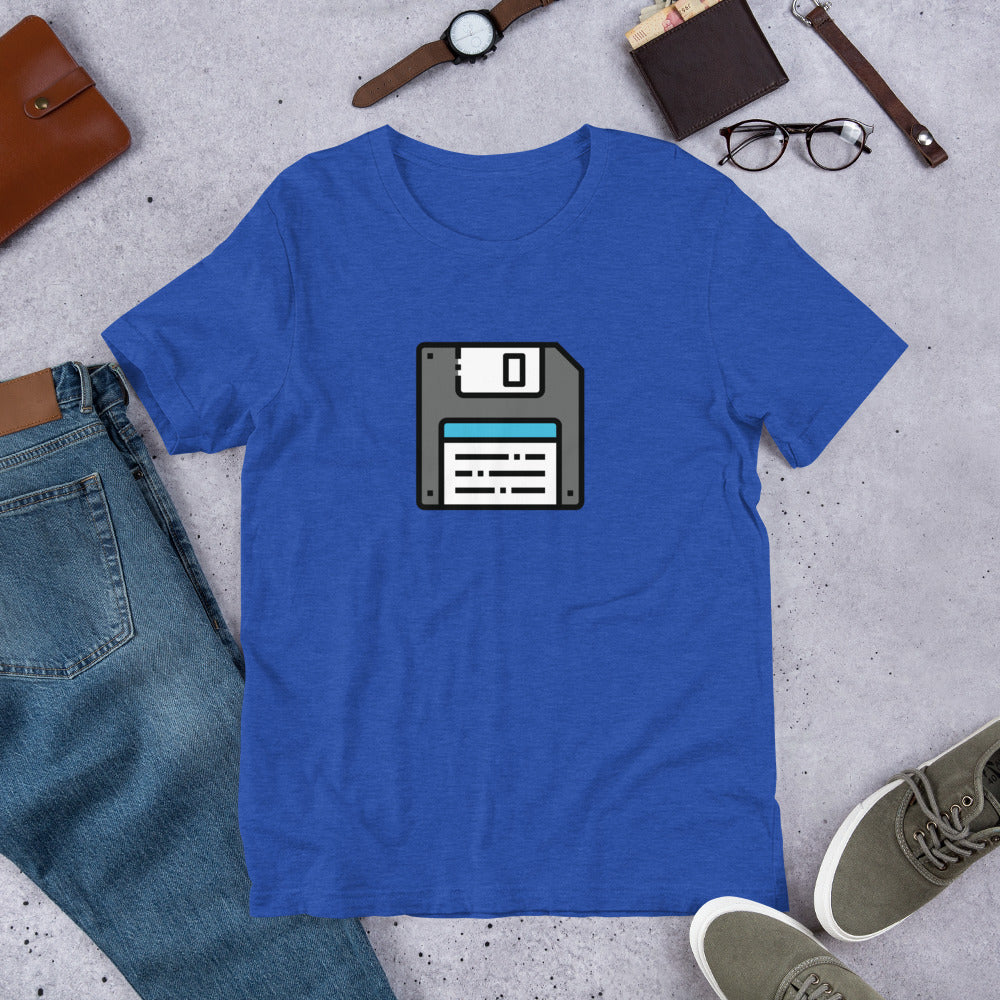 Floppy Disk - Dad Tshirt