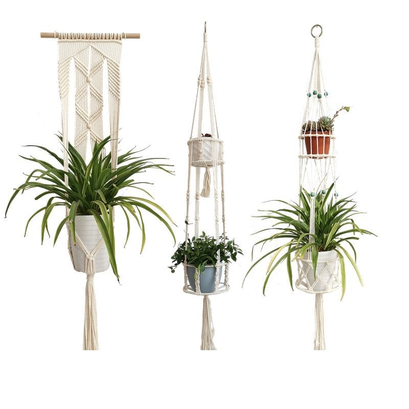 Double Layer Hanging Flower Pot