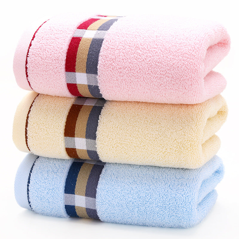 Plaid Stripe Bath Towel
