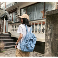 Everyday Canvas Denim Backpack