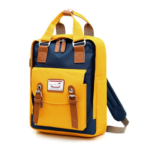 School Night Canvas Backpack