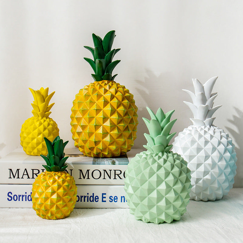 Cubic Pineapple Piggy Bank