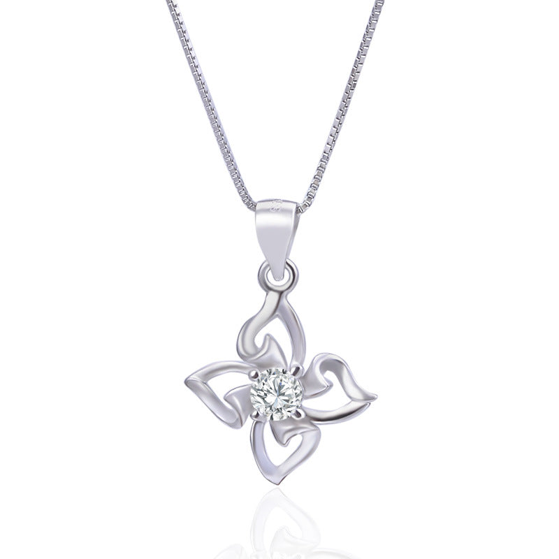 Quadrillium with Diamond Necklace