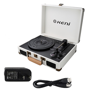 Keni Portable Vinyl Record Player