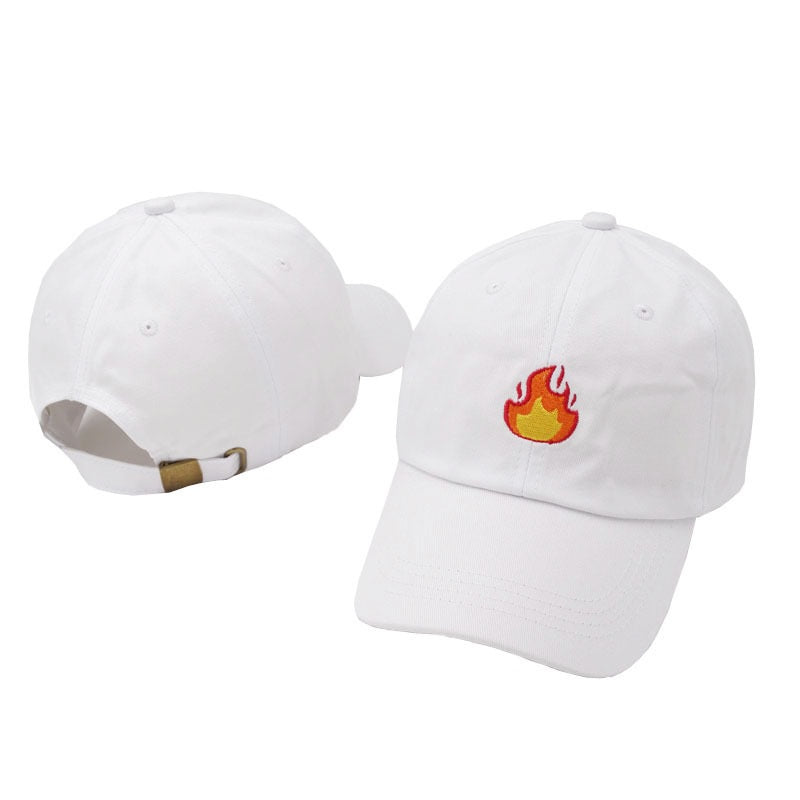 Flames Dad Hat