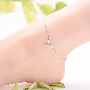 Two Star Anklet