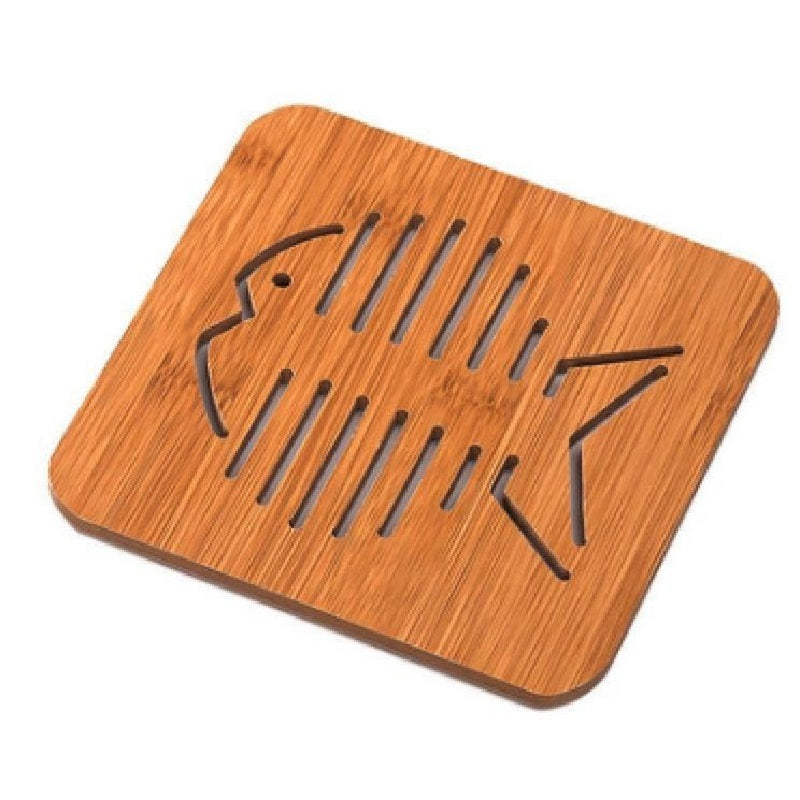 Wooden Trivet Animal Coaster