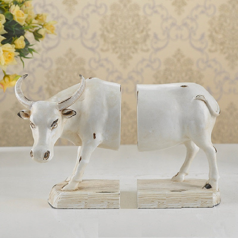 Ox Resin Bookend