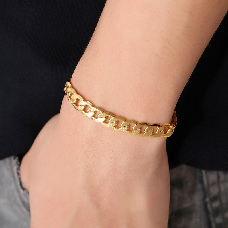 Men's Simple Chain Bracelet