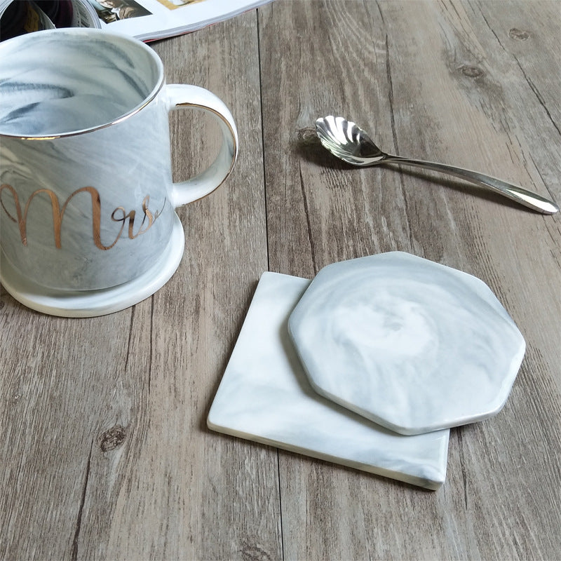 Marble Coaster 3-piece Set