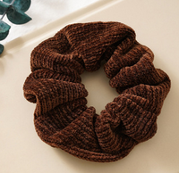 Velvet Knit Scrunchie