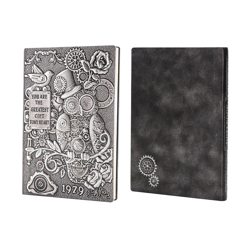 Steam Punk Recycled Paper Journal