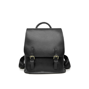 Genuine Leather Traveler's Backpack