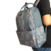 Flamingo Pattern Backpack