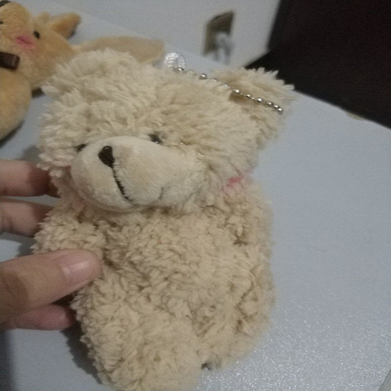 Plush Teddy Bear Keychain