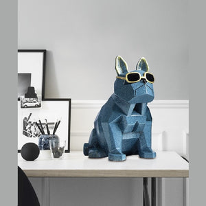 Cubic Bulldog Table Topper