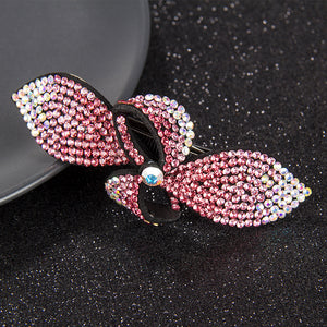 Rhinestone Hair Ornament Brooch