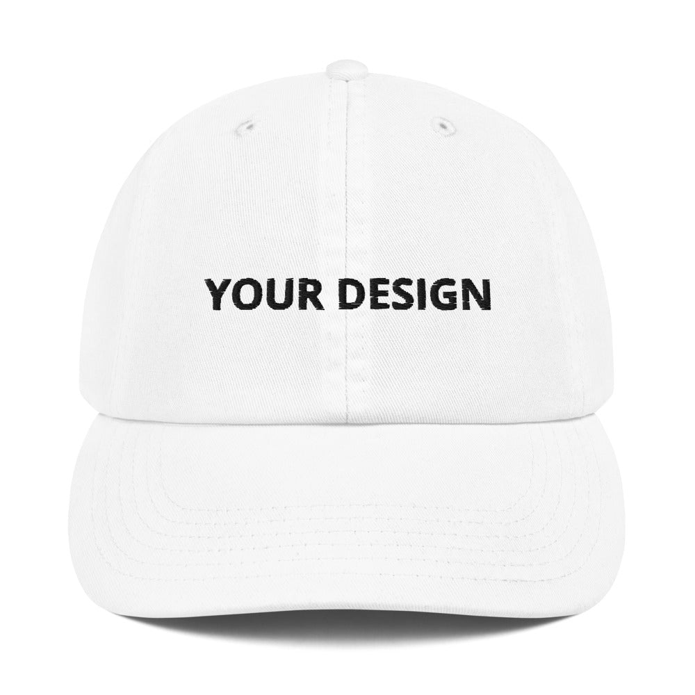 Customizable Champion Dad Cap - tie-dyeathome
