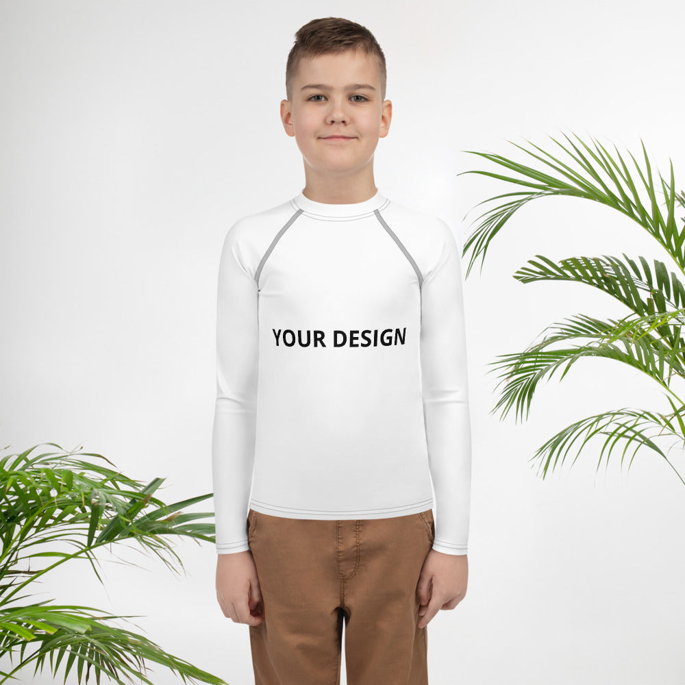 Youth Rash Guard - tie-dyeathome