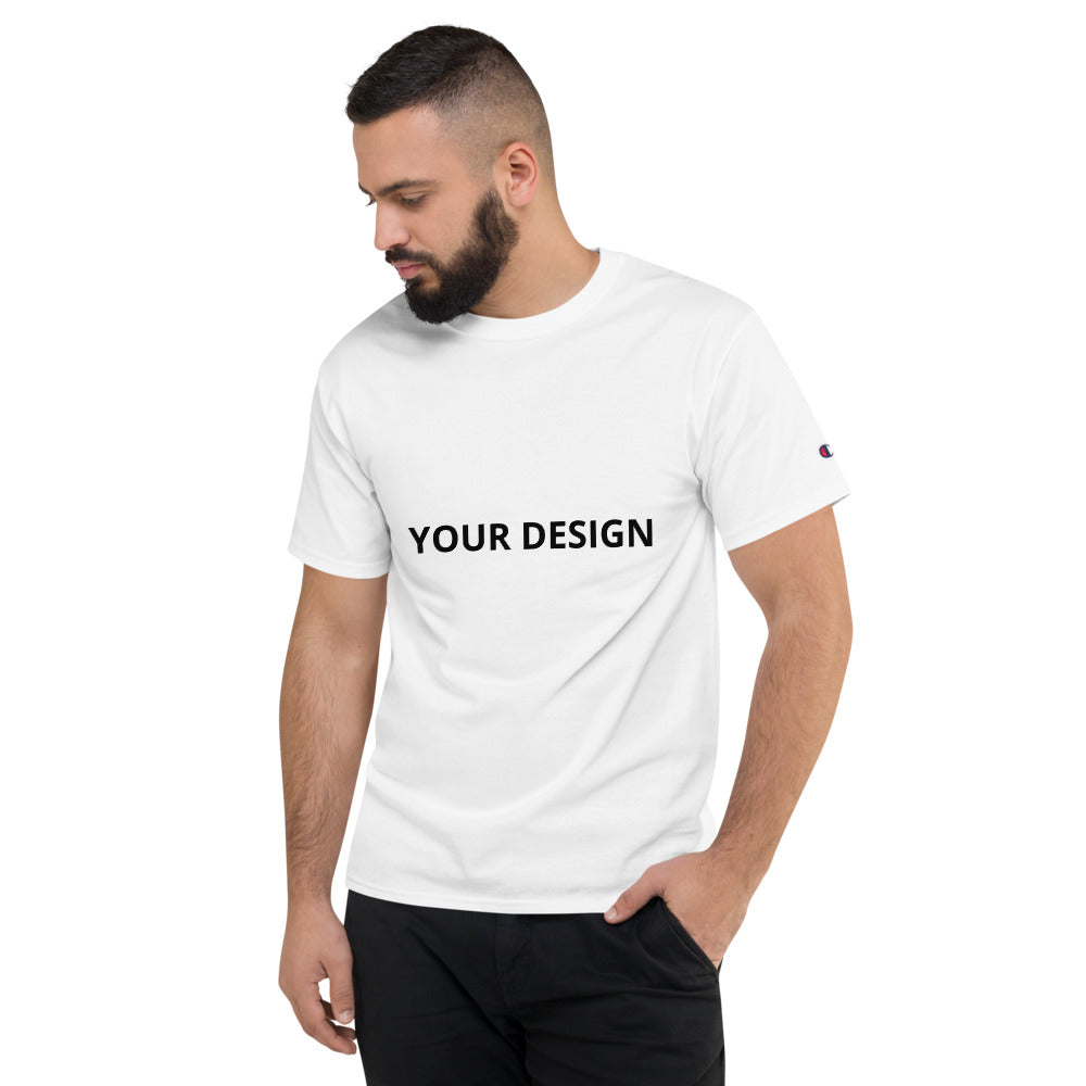 Customizable Men's Champion T-Shirt - tie-dyeathome