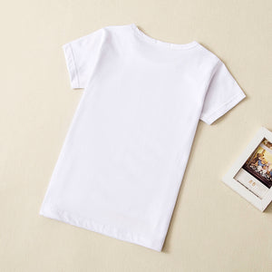 White Youth T- Shirt - tie-dyeathome