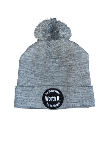 Worth It Beanie With Fuzzy