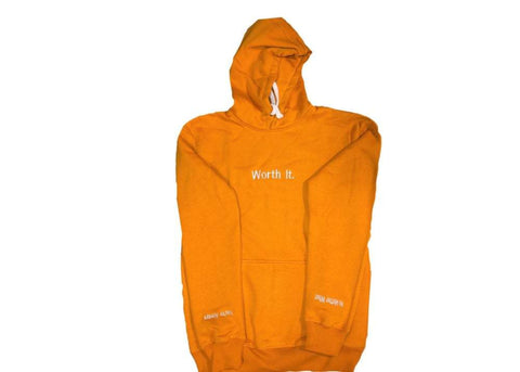 Yellow Worth It Hoodie