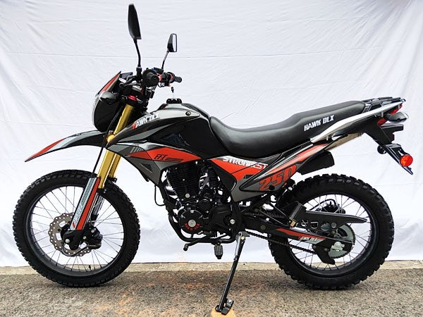 Hawk DLX250 250cc Dirt Bike With Fuel Injected System - Power Dirt Bikes