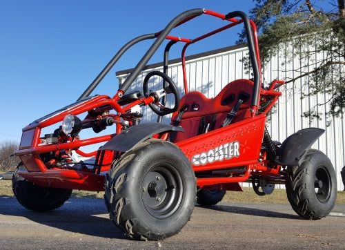 Coolster GK-6125 125cc Fully Automatic with Reverse Kids Go Kart - Power Dirt Bikes