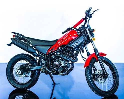 Magician 250CC Dirt Bike Street Legal - Power Dirt Bikes