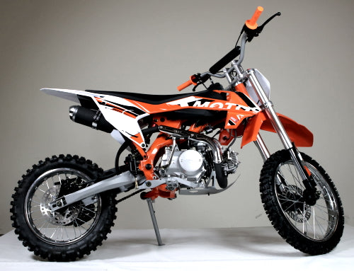Xmotos 125cc Deluxe Manual Dirt Bike with Clutch - IN STOCK SOON!! ORDER TODAY!!