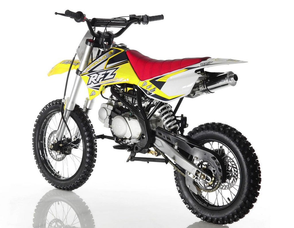 Apollo DB-X18 125cc Full Size Dirt Bike - Power Dirt Bikes