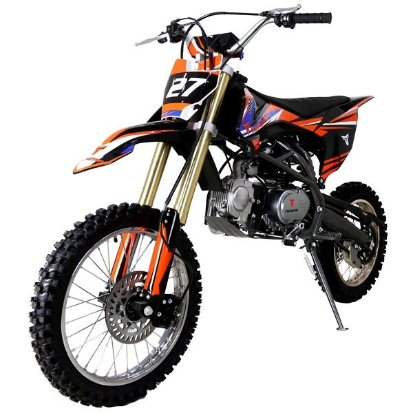 TaoTao DB27 125cc Manual Kick Start Full Size Dirt Bike Adult - Power Dirt Bikes