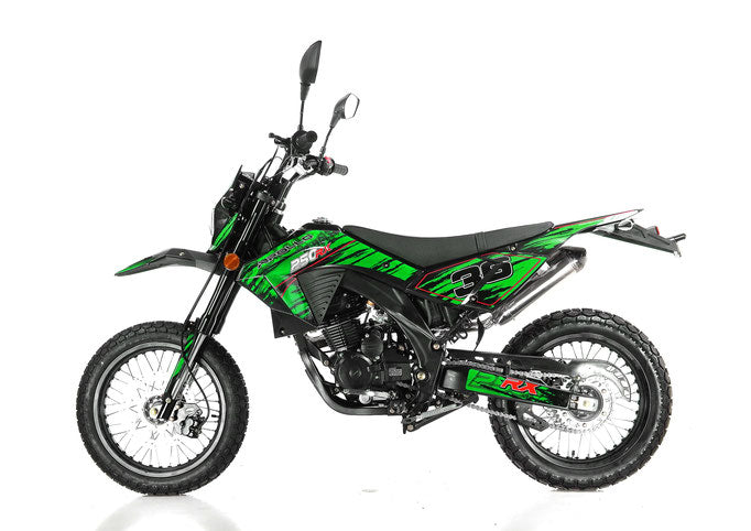 Apollo DB36 Deluxe 250cc Full Size Dirt Bike DOT - Power Dirt Bikes