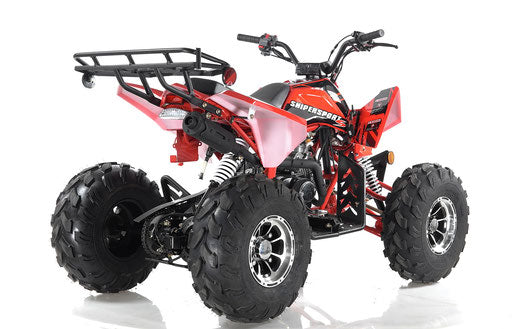 Apollo 125cc Sniper Sport DLX ATV - Power Dirt Bikes