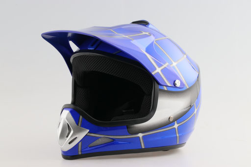 Motocross Helmet with Visor for Goggles - Power Dirt Bikes