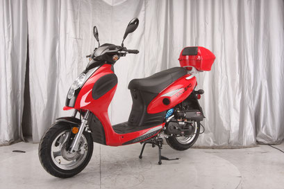 Valero 50cc Gas Scooter - Power Dirt Bikes